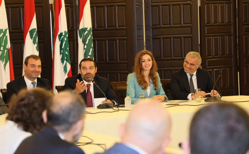 Pr Minister Saad Hariri Attnes a Workshop at Grand Serial