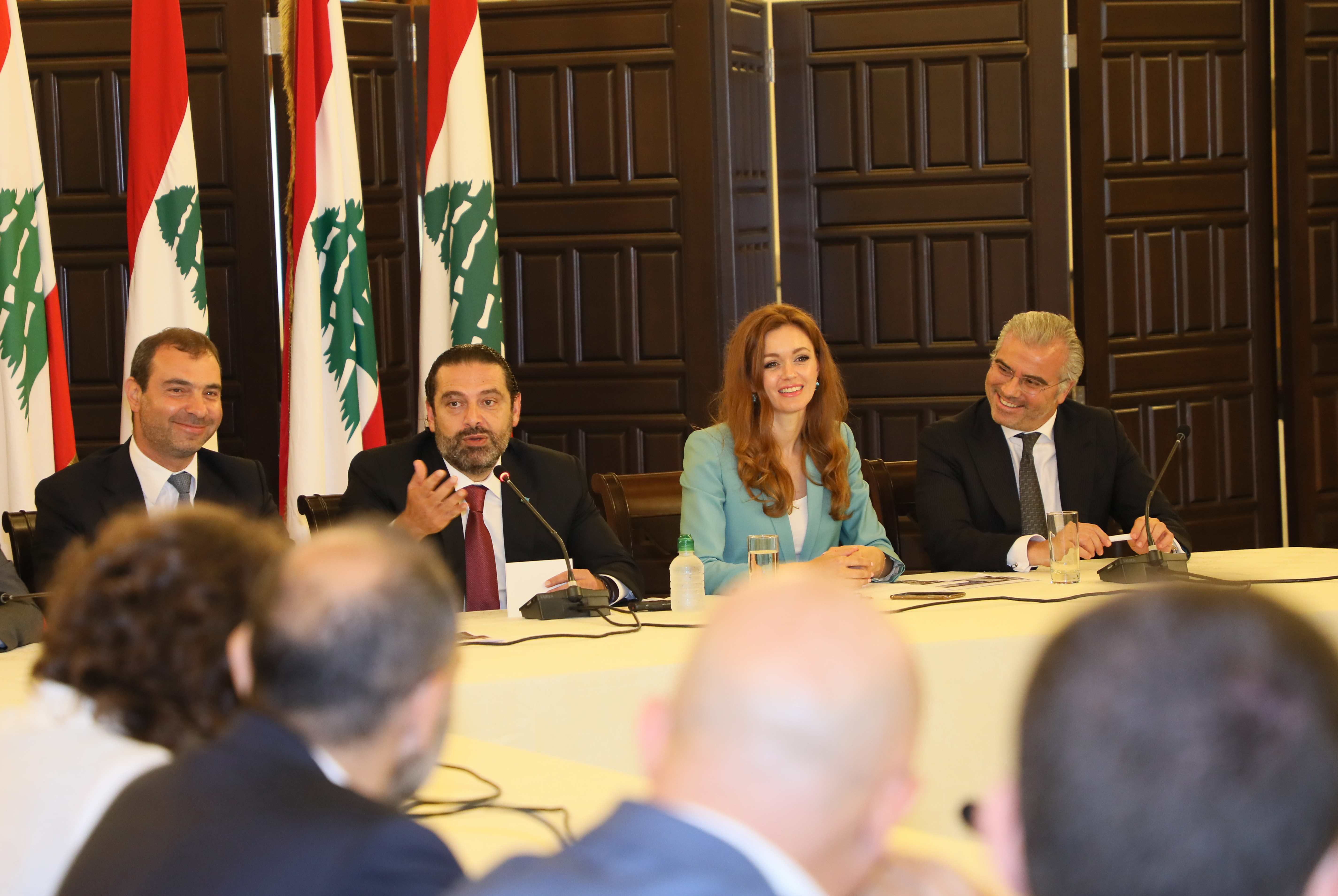 Pr Minister Saad Hariri Attnes a Workshop at Grand Serial 2
