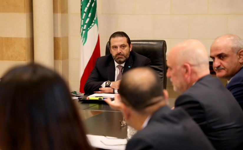 Pr Minister Saad Hariri Heading a Committee for Electricity