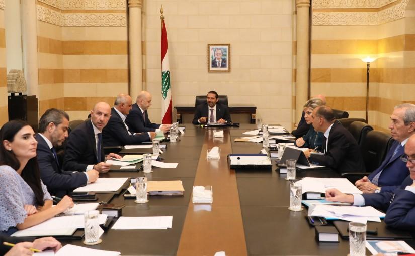 Pr Minister Saad Hariri Heading a Environment Committee
