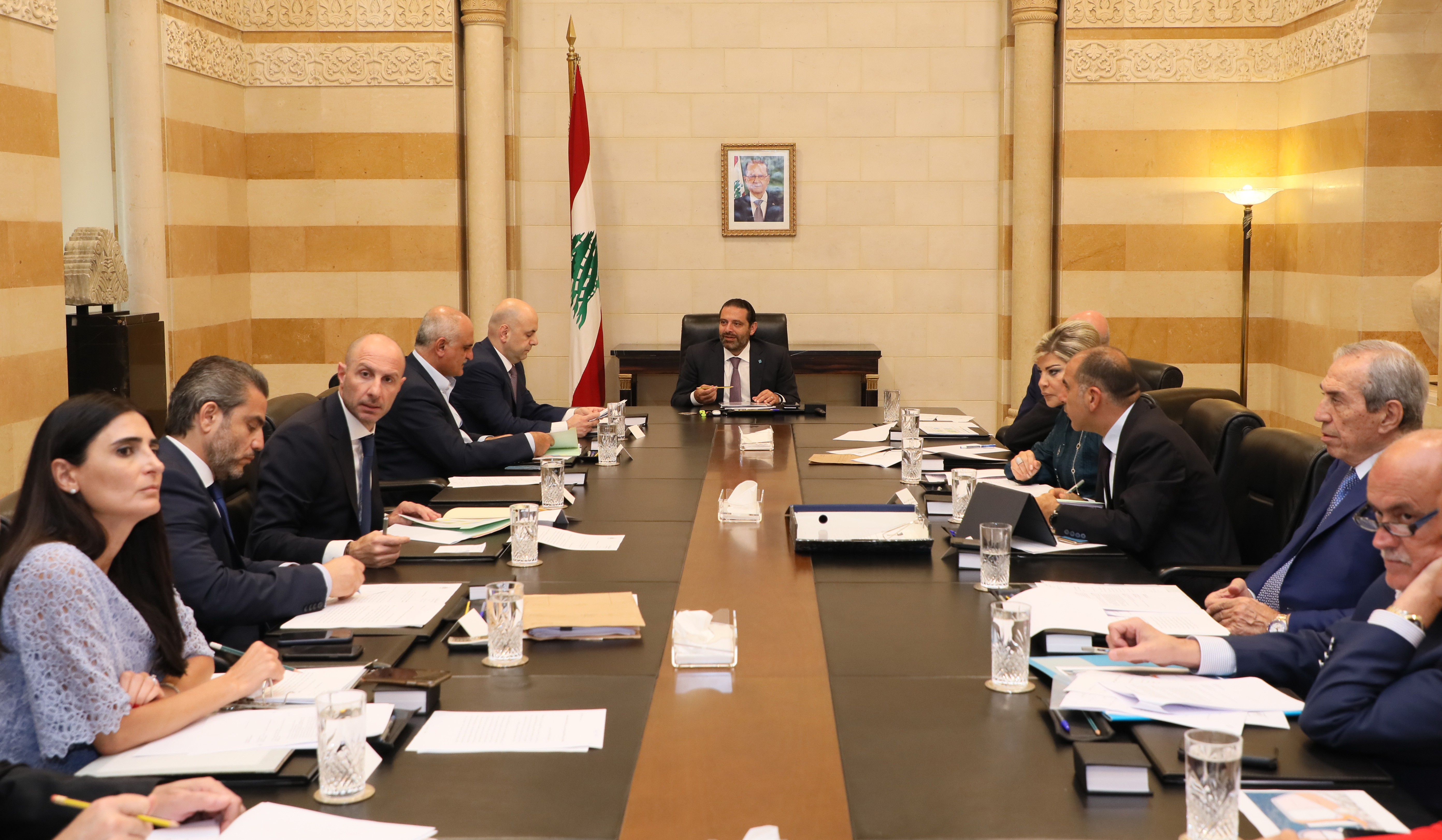 Pr Minister Saad Hariri Heading a Enviroment Committe
