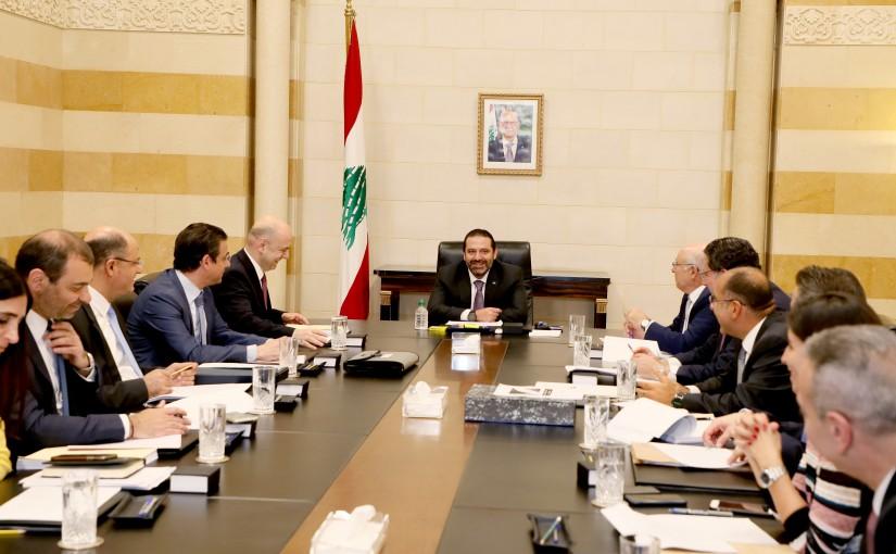 Pr Minister Saad Hariri Heading a Telecommunication Committee
