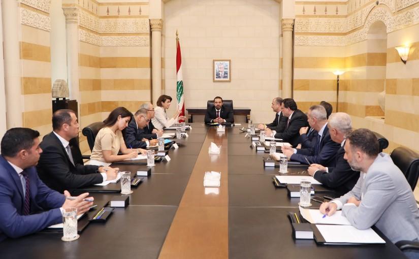 Pr Minister Saad Hariri Heading the Defense Committee