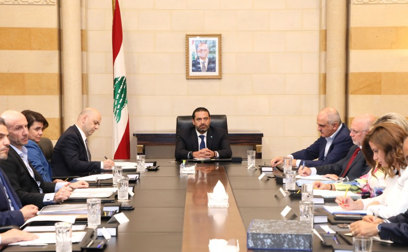 Pr Minister Saad Hariri Heading the Disposable Committee
