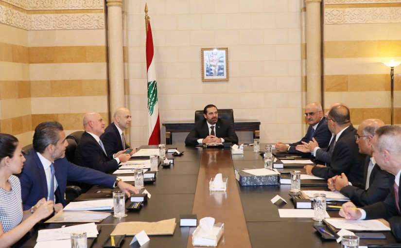 Pr Minister Saad Hariri Heading the Environment Committee