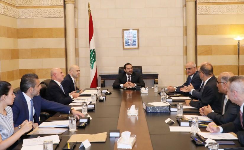 Pr Minister Saad Hariri Heading the Environment Committee