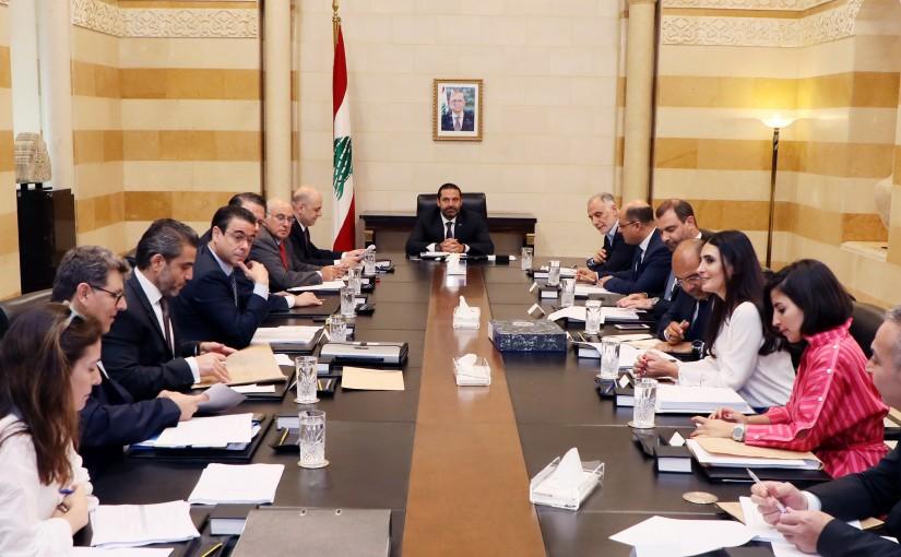 Pr Minister Saad Hariri Heading the Telecomunication Committee