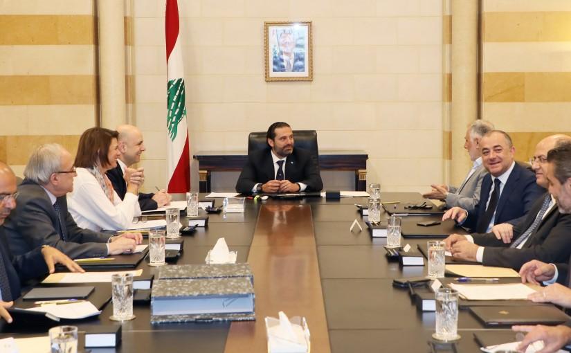 Pr Minister Saad Hariri Heanding the Amnesty Committee