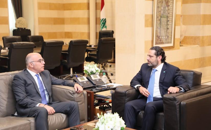 Pr Minister Saad Hariri meets Ambassador Fouad Dandan