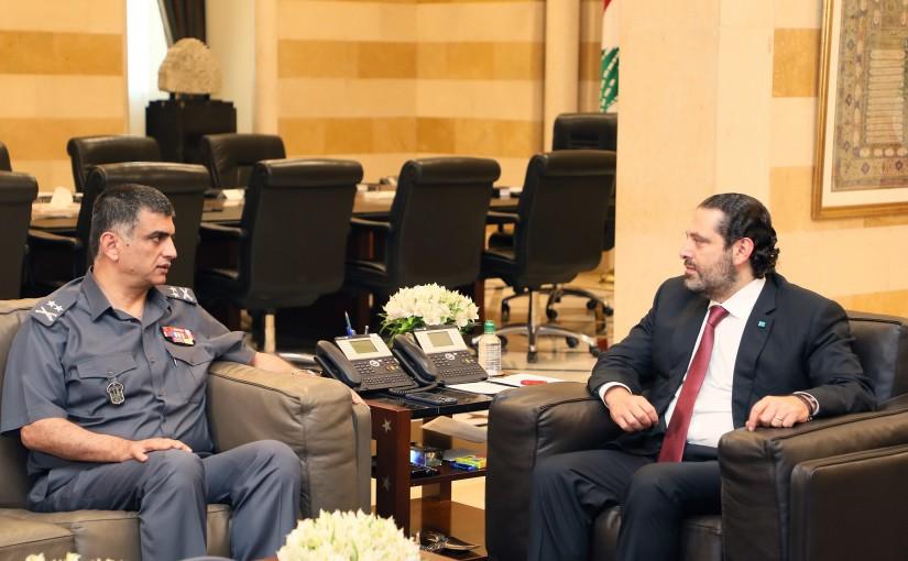 Pr Minister Saad Hariri meets General Imad Outhman