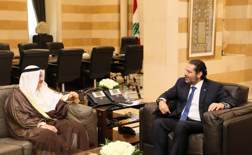 Pr Minister Saad Hariri meets Kuwaity Ambassador