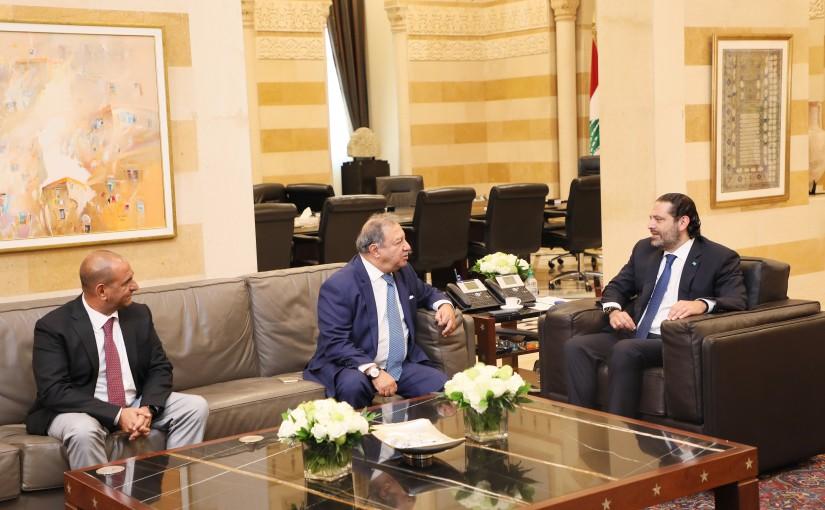 Pr Minister Saad Hariri meets Mr Aouni el Kaaki