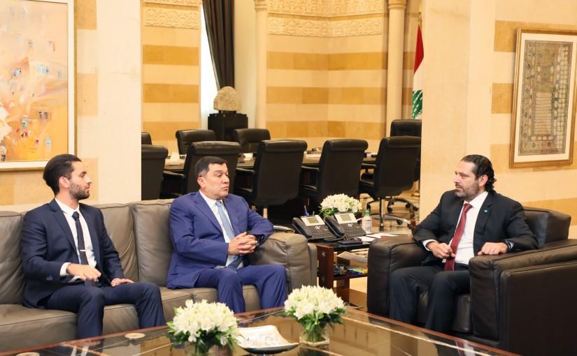 Pr Minister Saad Hariri meets Mr Mouhamad Hout