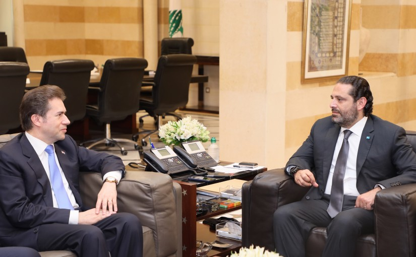 Pr Minister Saad Hariri meets Paraguay Minister of Foreign Affairs