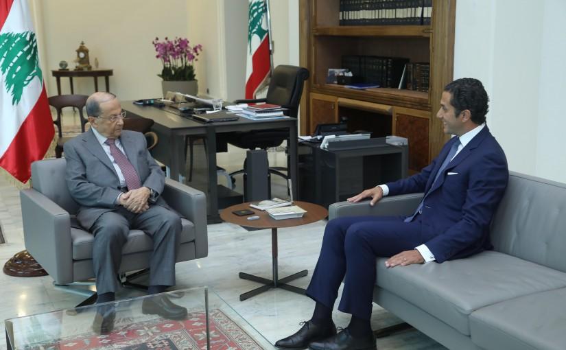 President Michel Aoun Meets Lebanese Ambassador in Sultanate of Oman Albert Semeha