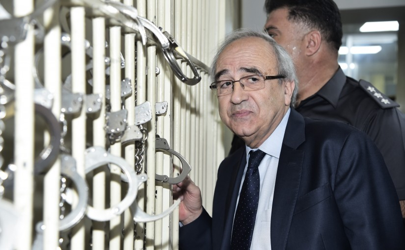 Minister Albert Serhan Tours at The Justice Palace