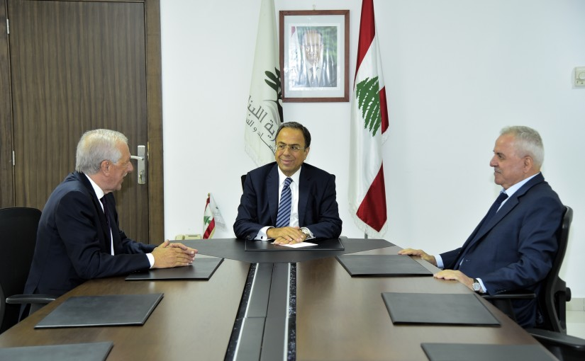 Minister Mansour Bteich meets a Delegation from Bekaa MPs