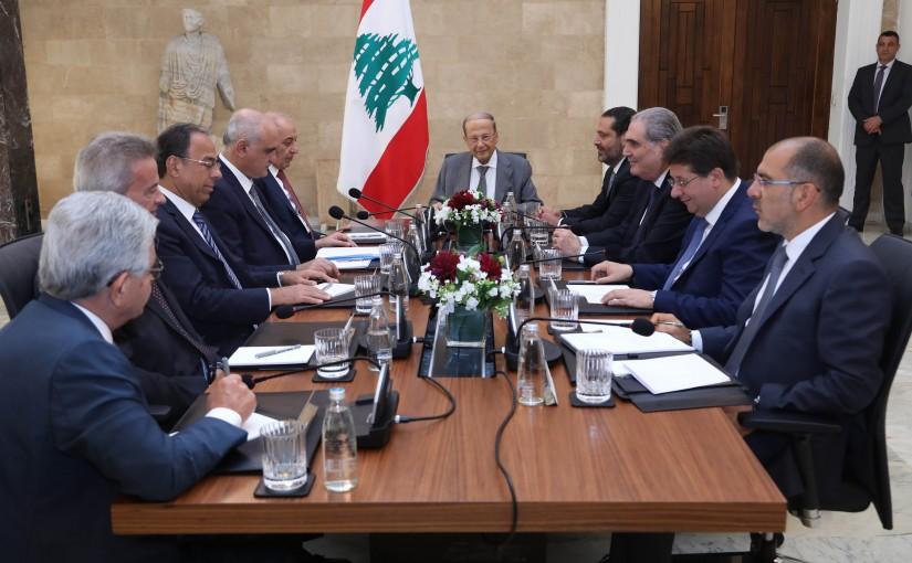 President Michel Aoun Meets House Speaker Nabih Berri & Pr Minister Saad Hariri