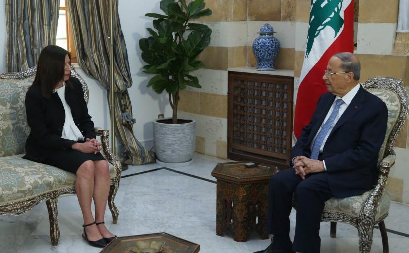 President Michel Aoun Meets Cypriot Ambassador