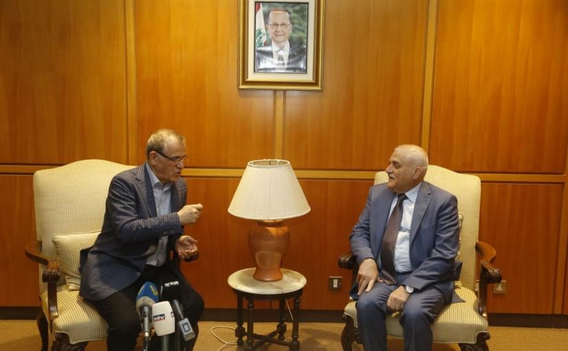 Minister Jamil Jabak meets Iraqi Minister of Health