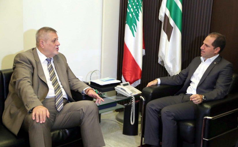 MP Sami Gemayel Meets Jan Kubis United Nations Special Coordinator for Lebanon