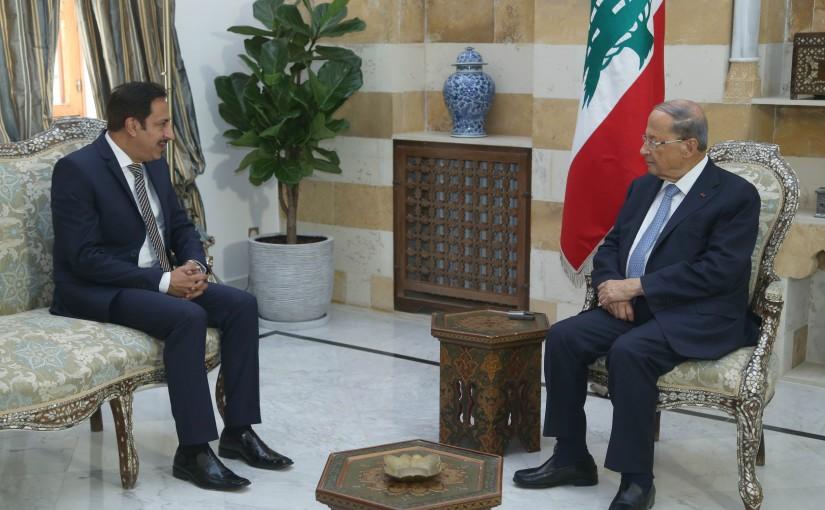 President Michel Aoun Meets Lebanese Ambassador in Ghana-Accra Maher El Kheir