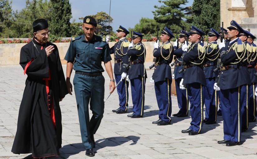 President Michel Aoun Meets Patriarch Mar Bechara Boutros Rahi