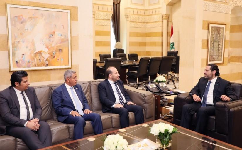 Pr Minister Saad Hariri meets a Yemen Delegation