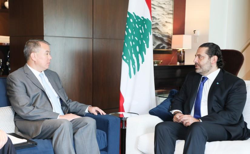 Pr Minister Saad Hariri meets Deputy Minister of Defense