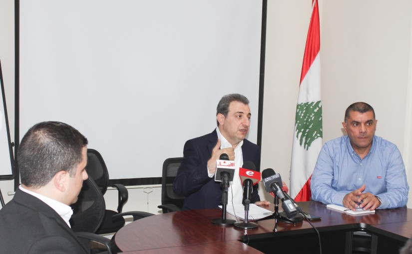 Press Conference for Minister Wael Abou Faour