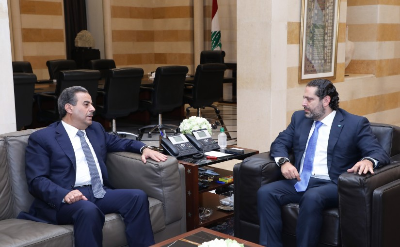 Pr Minister Saad Hariri meets Ambassador Chawki Abou Nassar