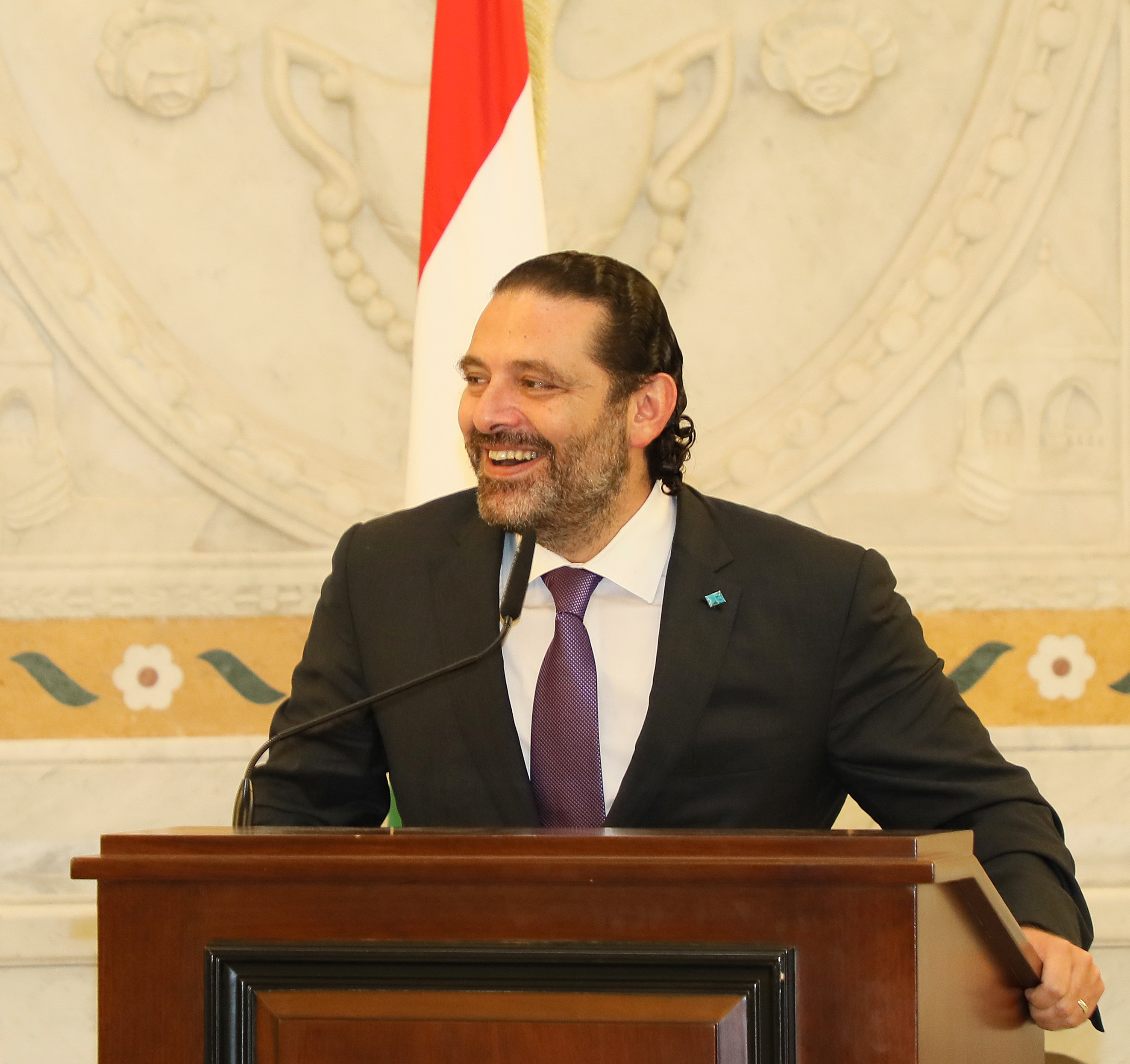 Pr Minister Saad Hariri Honors a Delegation from Lebanese Students 4
