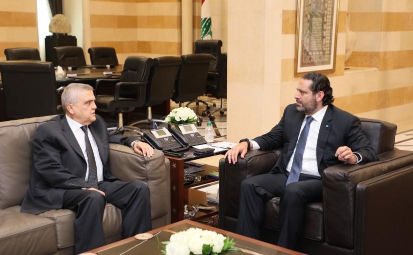 Pr Minister Saad Hariri meets Mr Saad El Dine Sakr