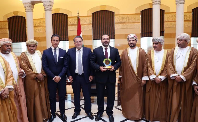 Pr Minister Saad Hariri meets a Delegation from Oman 1