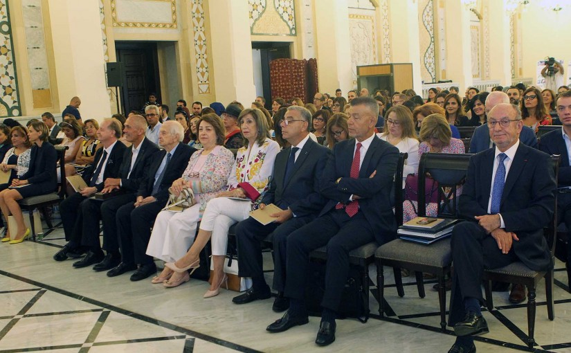 Conference for the Lebanese Research Center at the Grand Serail