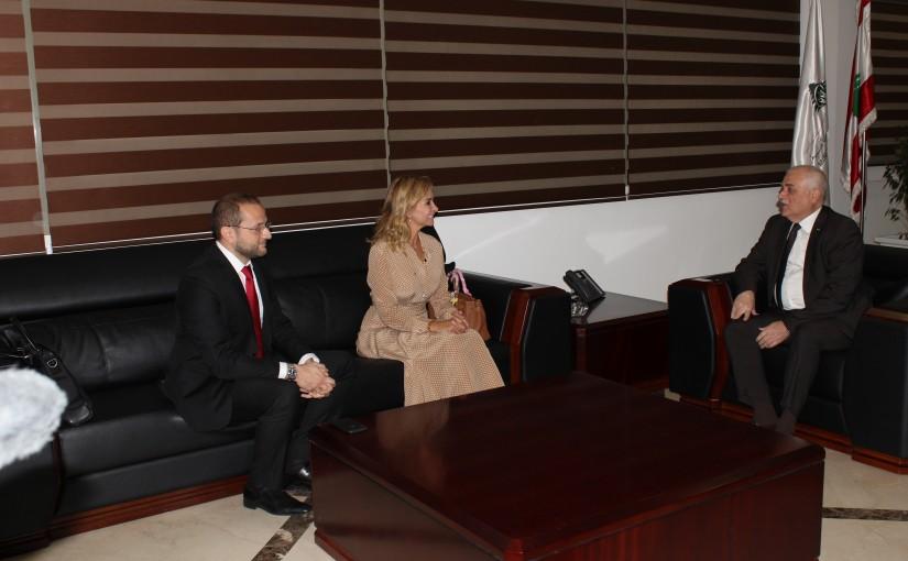 Minister Mohamad Jaback Meets Swiss Ambassador