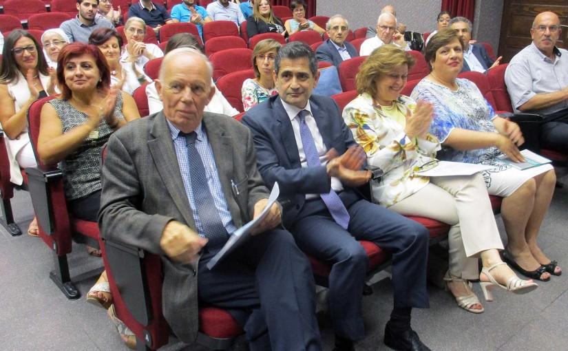Minister Richard Kouyoumdjian Attends a Conference at USJ University