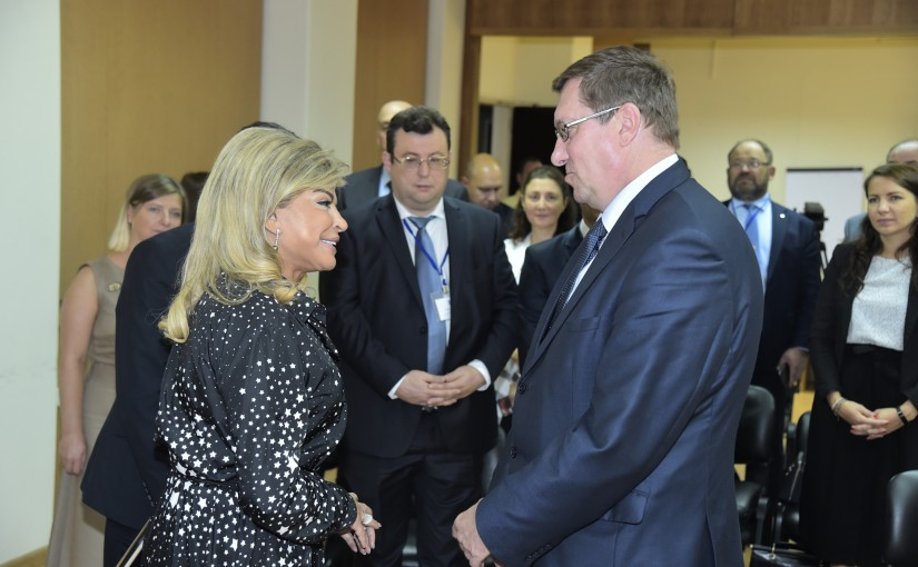 Minister May Chidiac meets Estonia Deputy Minister of Foreign Affairs