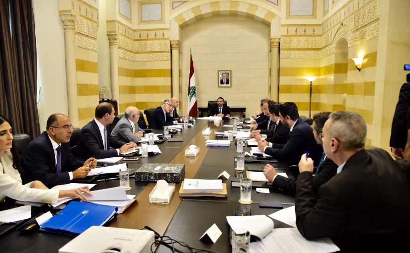 Pr Minister Saad Hariri Heading a Committee for Reforms