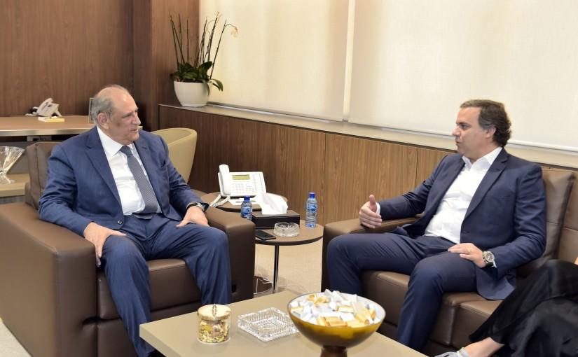Minister Jamal Jarrah meets Brazilian Consul