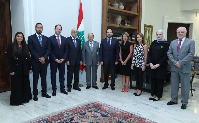 President Michel Aoun Meets a Delegation of Beirut Doctors Order Headed By Dr Charaf Abou Charaf