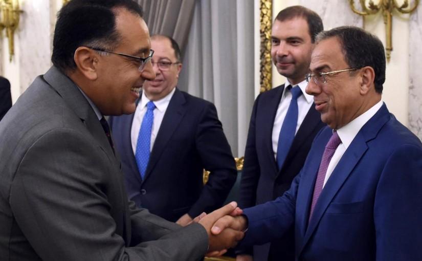 Minister Mansour Bteich in Cairo