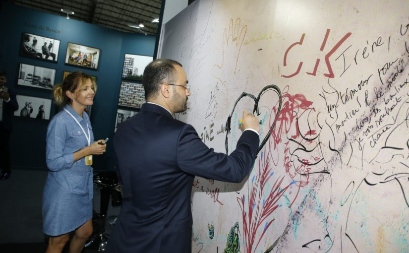 Minister Mouhamad Daoud Daoud Inaugurates a Fair at Seaside Beirut
