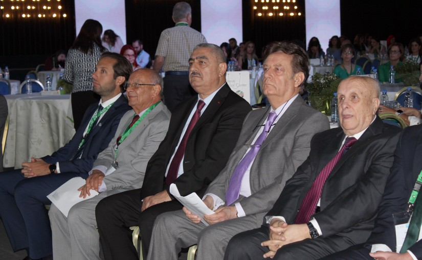Minister Jamil Jabak Attends a Conference at Biel