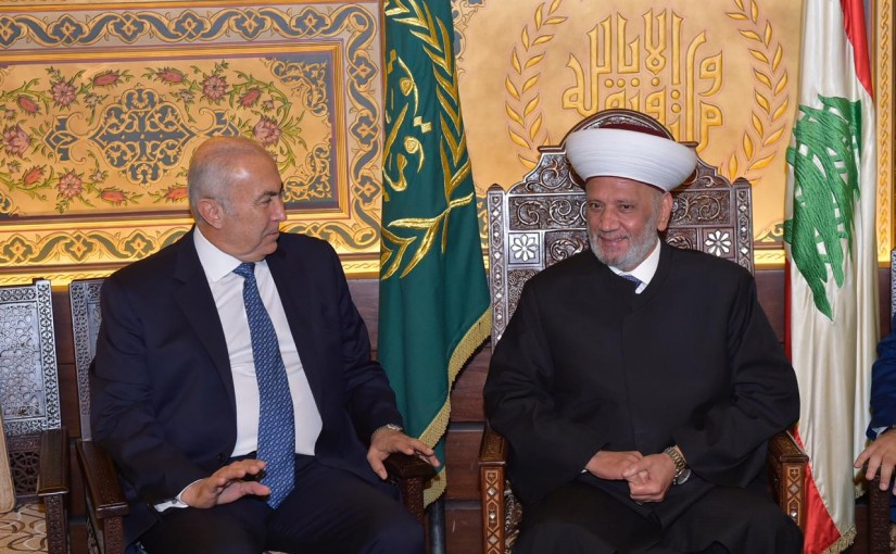 Grand Mufti Abdel Amir Kabalan Meets MP Fouad Makhzoumi
