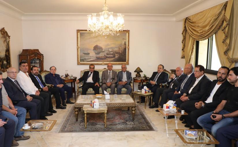 Pr Minister Saad Hariri Presents his condolences to Mr Mouhamad el Hout