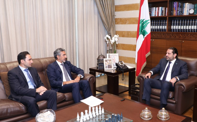 Pr Minister Saad Hariri meets a Delegation from Life