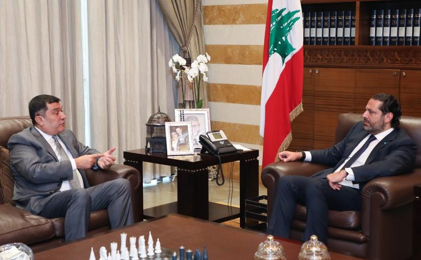 Pr Minister Saad Hariri meets Mr Mouhamad el Hout