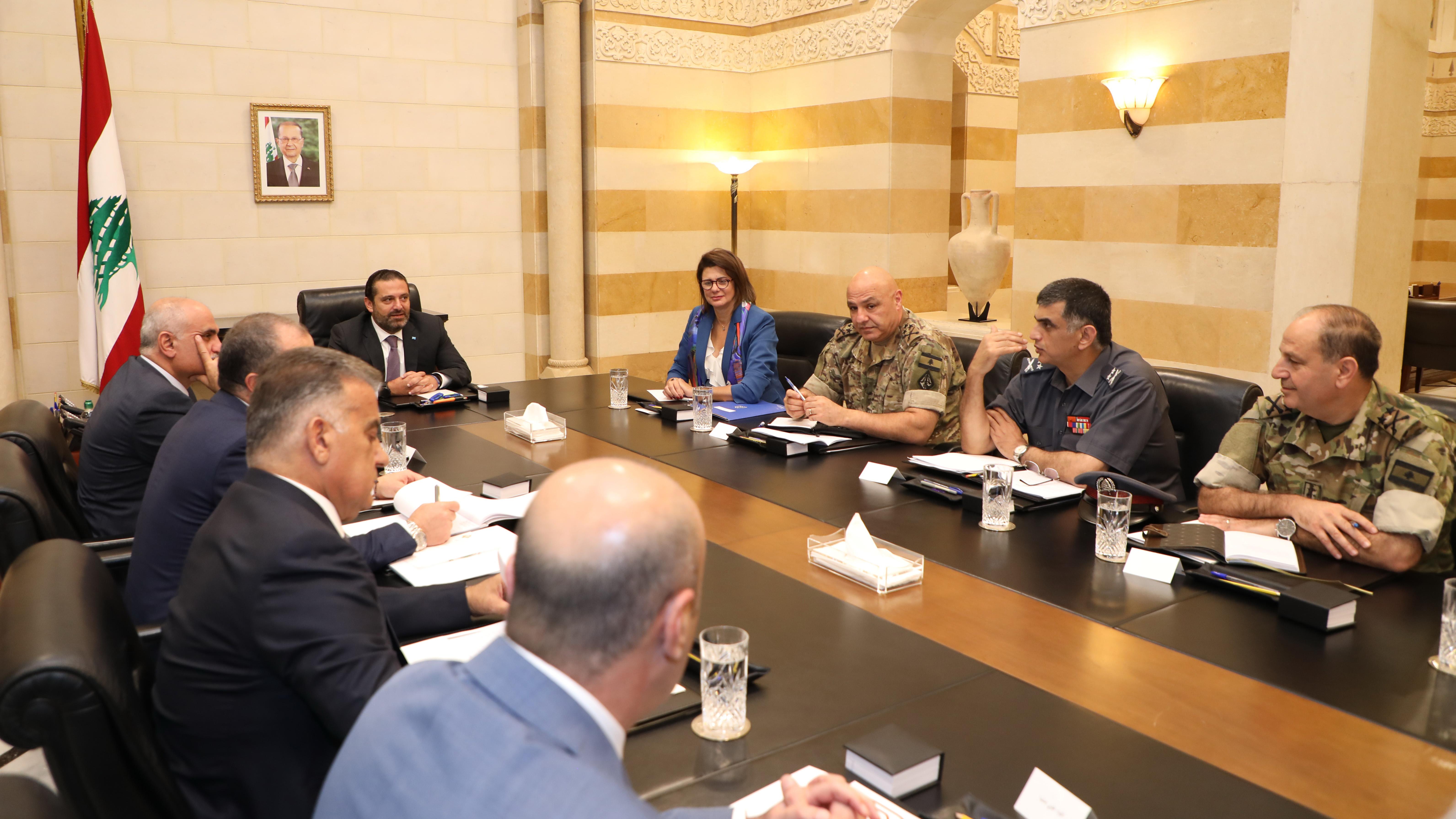 Pr Miinister Saad Hariri meets Luxenburg Deputy Pr Minister 2