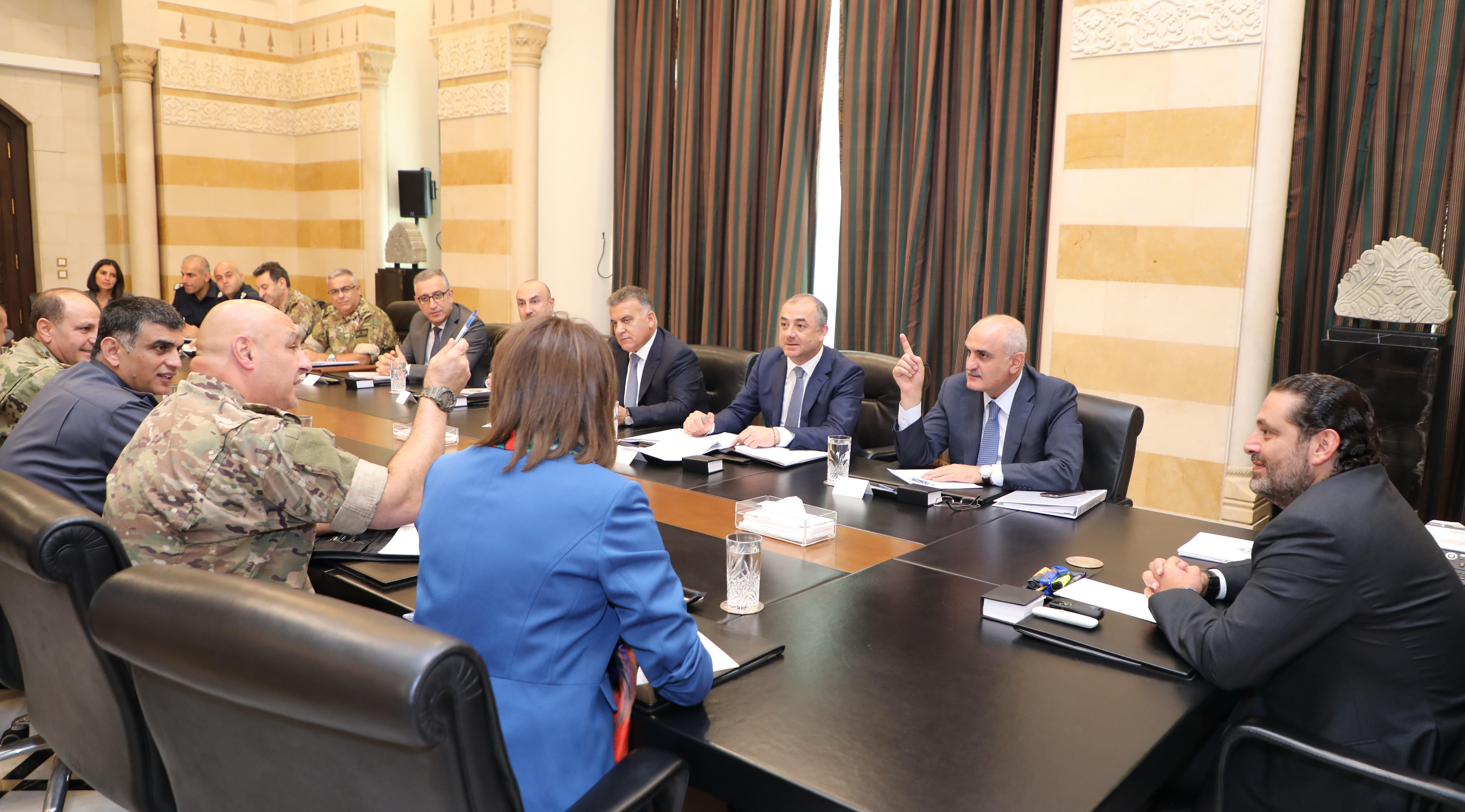 Pr Miinister Saad Hariri meets Luxenburg Deputy Pr Minister 3